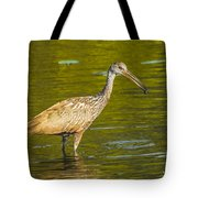Limpkin With A Snack Tote Bag