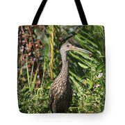 Limpkin With An Apple Snail Tote Bag