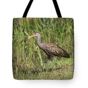 Limpkin With Apple Snail Tote Bag
