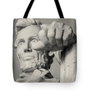 Lincoln - 3463 On The Train Tote Bag