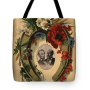 Lincoln And Garfield Tote Bag