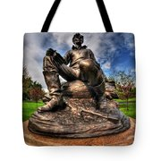 Lincoln At Delaware Park  Tote Bag