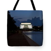 Lincoln By Night Tote Bag