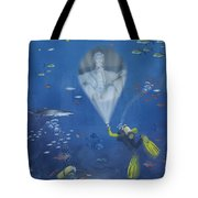 Lincoln Diving Center Tote Bag