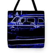 Lincoln In Neon Tote Bag