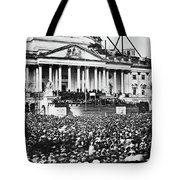 Lincoln Inauguration, 1861 Tote Bag