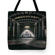 Lincoln Memorial Tote Bag by Eduard Moldoveanu