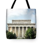 Lincoln Memorial Side View Tote Bag