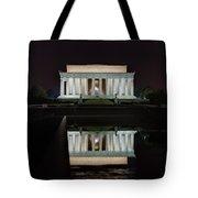 Lincoln Reflection Tote Bag