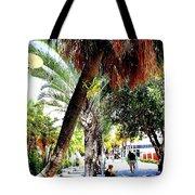 Lincoln Road In Miami Beach Tote Bag