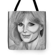 Linda Evans In 1984 Tote Bag