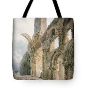 Lindisfarne Abbey Tote Bag