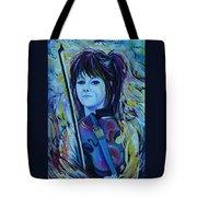 Lindsey Stirling Tote Bag by Anna  Duyunova