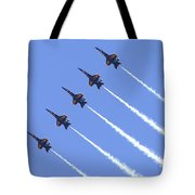Line Abreast Pass Tote Bag