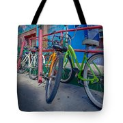 Line Em Up Tote Bag