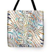 Line Movement Tote Bag