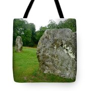 Line Of Avebury Stones Tote Bag