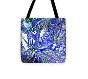 Line Texture Colour Tote Bag
