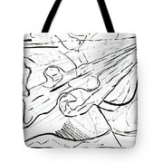 Linear Expression Tote Bag