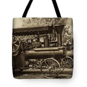 Lined Up To Work Tote Bag
