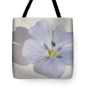Linen Watercolour Tote Bag