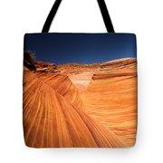 Lines In Sandstone Tote Bag