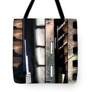 Lines Of Connection Tote Bag