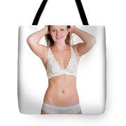 Lingerie Portrait Tote Bag