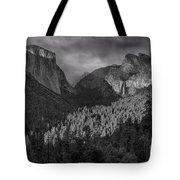 Lingering Shadows In Grey Tote Bag