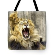 Lion 15 Tote Bag