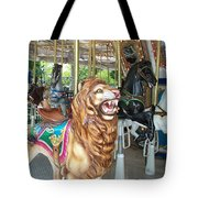 Lion At Liberty Tote Bag