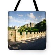 Lion Bridge At Alnwick Castle Tote Bag
