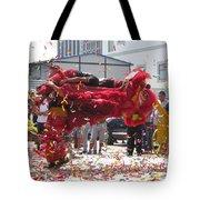 Lion Dance Tote Bag