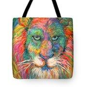 Lion Explosion Tote Bag