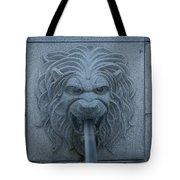Lion Head Tote Bag