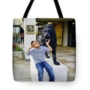 Lion Hearted Tote Bag