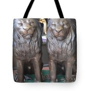 Lion Hearted Share Tote Bag