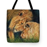 Lion  Love Tote Bag