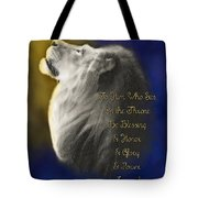Lion Adoration Tote Bag
