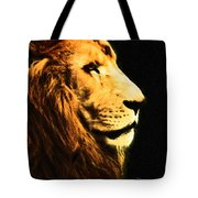 Lion Paint 2 Tote Bag