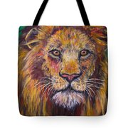 Lion Stare Tote Bag