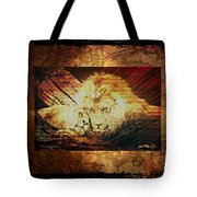 Lion Tapestry - Soulmates Tote Bag
