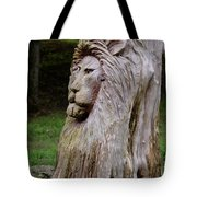 Lion Tree Tote Bag