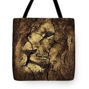 Lion -wall Art Tote Bag