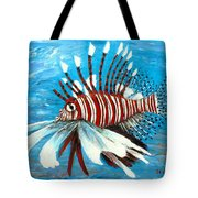 Lionfish IIi Tote Bag