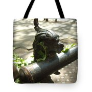 Lion's Mouth Tote Bag