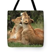 Tenderness In The Wild Tote Bag