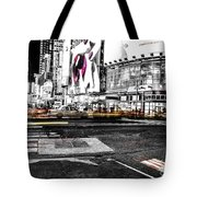 Lip Smack Nyc Tote Bag