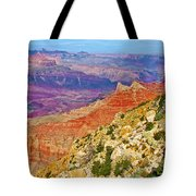Lipan Point View On East Side Of South Rim Of Grand Canyon-arizona   Tote Bag