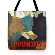 Lippincotts Decembe  1896 Tote Bag